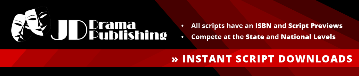 JD Drama Publishing. All scripts have an ISBN and Script Previews. Compete at the State and National Levels. Instant Script Downloads.