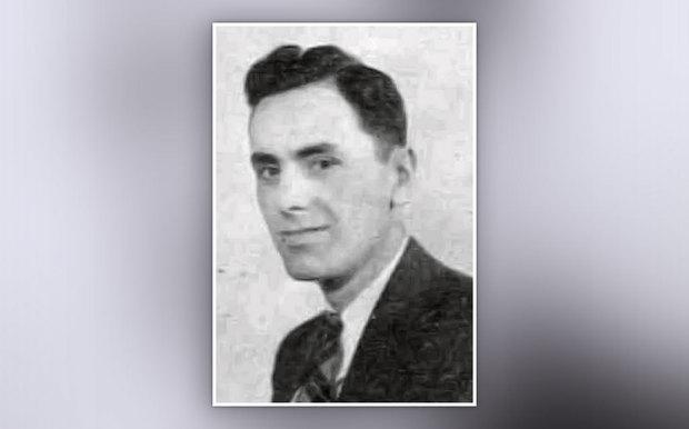 Black and white photo of Central College grad James Naccarato Sr