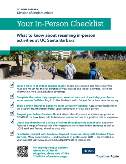 Image of Your In-Person Checklist, click to download accessible PDF version