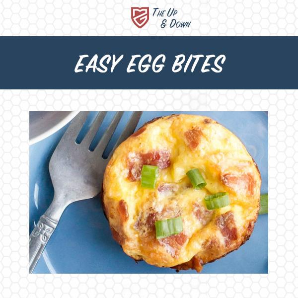 Easy Egg Bites Recipe