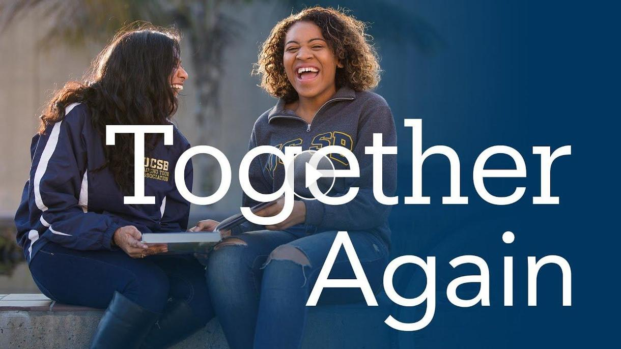UC Santa Barbara... together again!