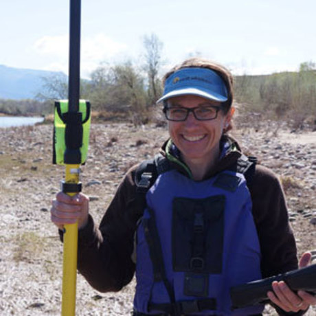 Riverside with Gigi Richard, Director of the Four Corners Water Center and instructor of Geosciences