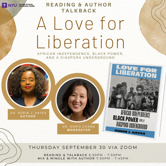 Reading & Author Talkback: A Love for Liberation
