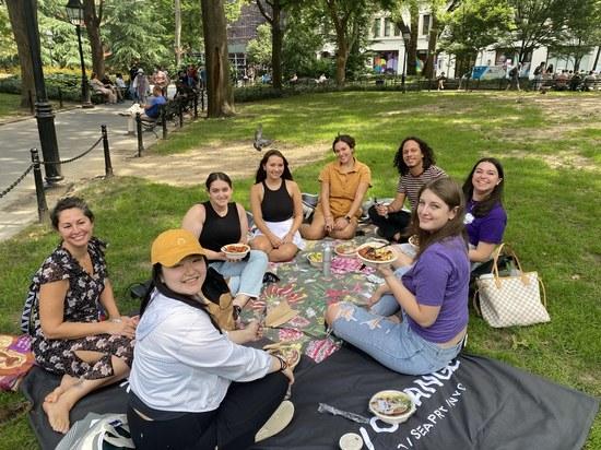 Photo of Peer Leader Lunch Social