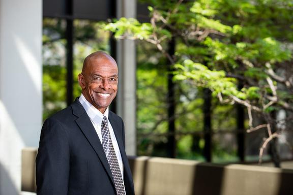 Dr. John Carmichael, interim president, headshot