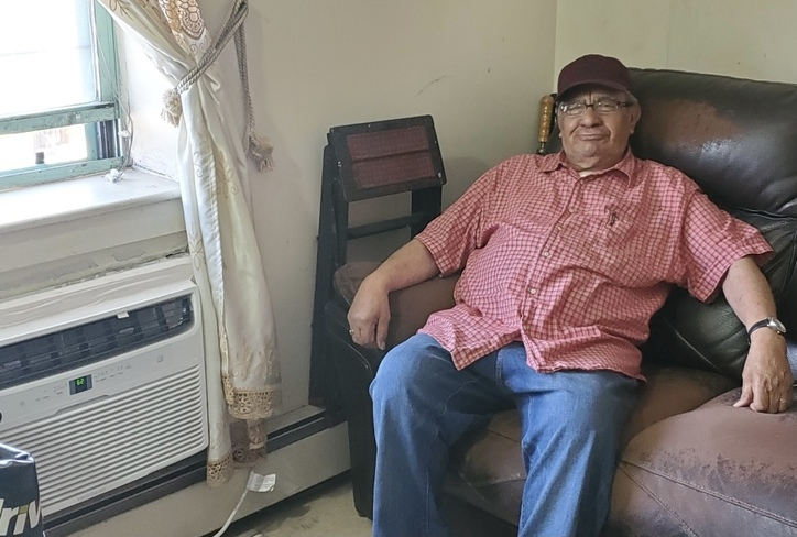 Ramon, a resident at Martin Luther Court