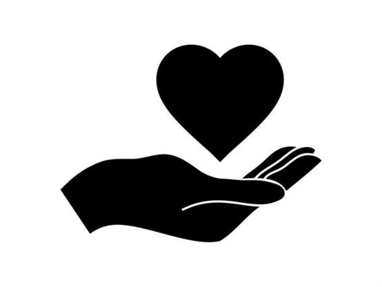 Heart and Hand Image