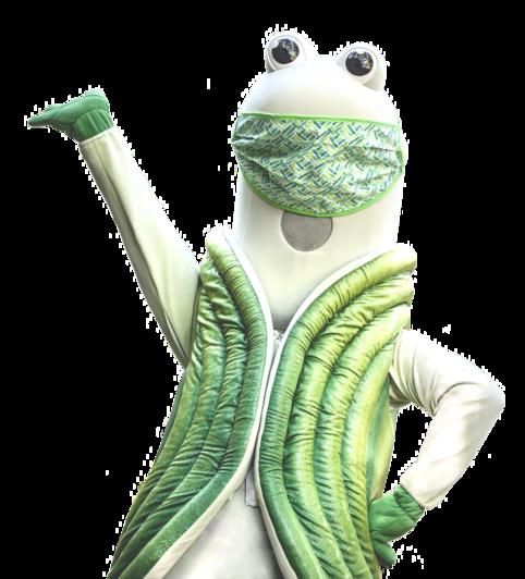 Image of Speedy the Geoduck Evergreen's Mascot
