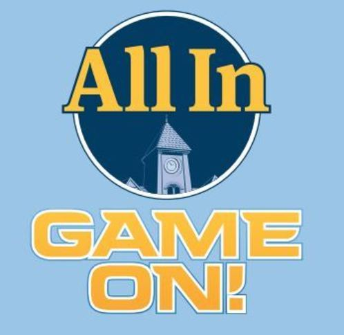 All In Game On logo