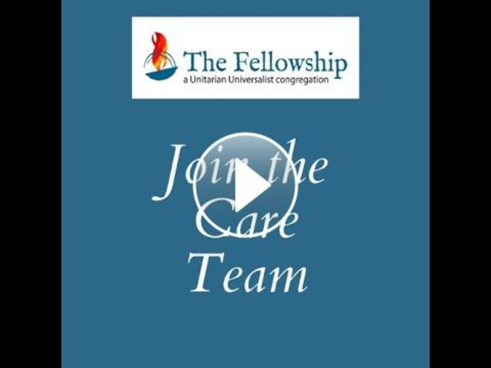 A Message from the Care Team