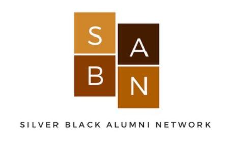 Silver Black Alumni Logo