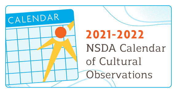 Inclusion Page: NSDA Calendar of Cultural Observations
