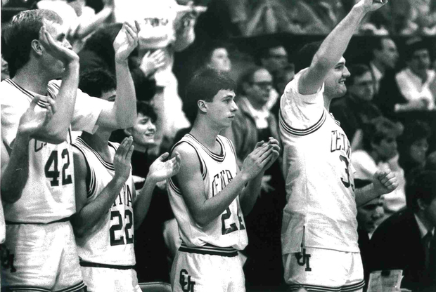 Photo of Central College 1991 mens basketball team