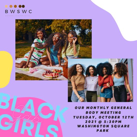 Black Girl Gab Flyer 1