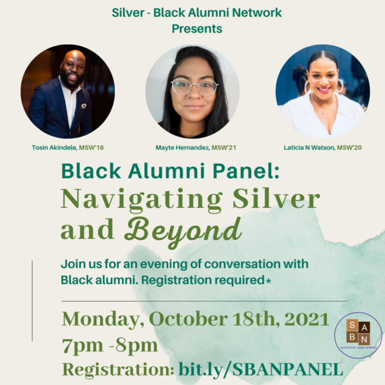 Black Alumni Panel: Navigating Silver and Beyond