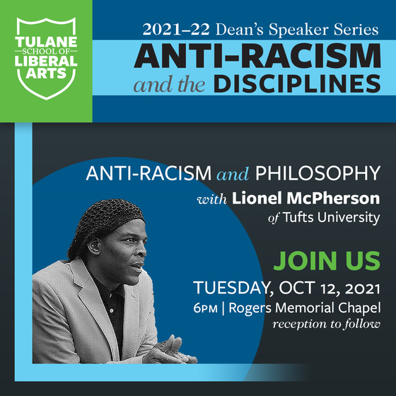 Anti-racism and the disciplines: Lionel McPherson