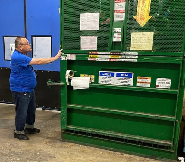 Kevin Nowak working at Price Rite